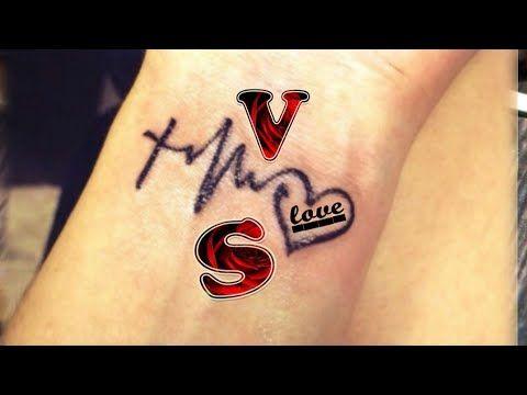 V S Letter Whatsapp Status Video V S Name Whatsapp Status Video V S Word V S Alphabet Whatsapp Youtube Name Tattoo On Hand Tattoo Lettering V Letter Tattoo