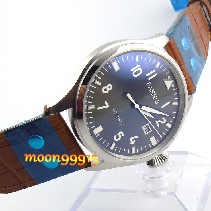 47mm parnis gray dial date automatic movement mens watch     Tag a friend who would love this!     FREE Shipping Worldwide     Get it here ---> https://shoppingafter.com/products/47mm-parnis-gray-dial-date-automatic-movement-mens-watch/