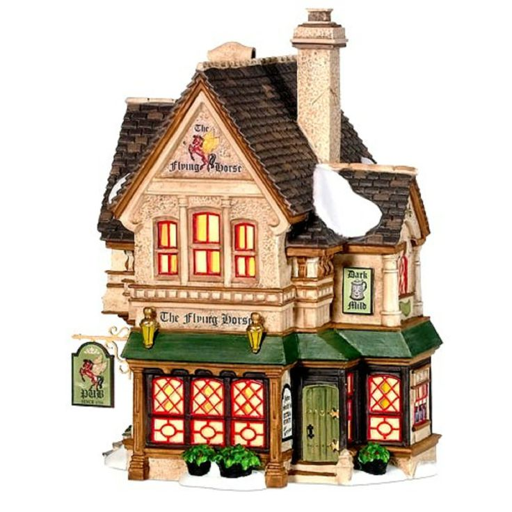 Flying Horse Tavern RETIRED Department 56 Dickens