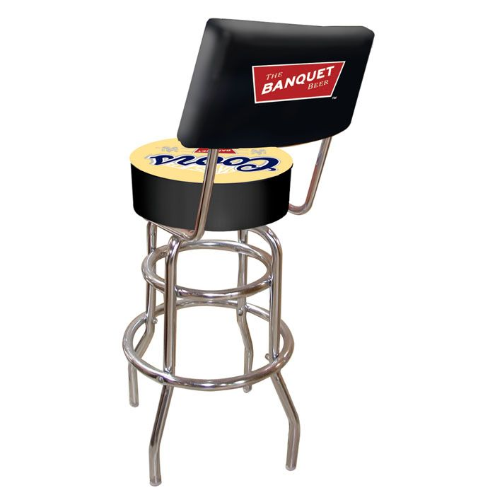 Coors Banquet Padded Shop Stool with Backrest - Car Guy Garage  sc 1 st  Pinterest & 86 best Shop Stools images on Pinterest | Shop stools Swivel bar ... islam-shia.org