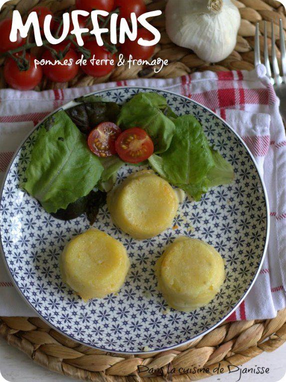 Muffins pommes de terre et fromage {recette végane}