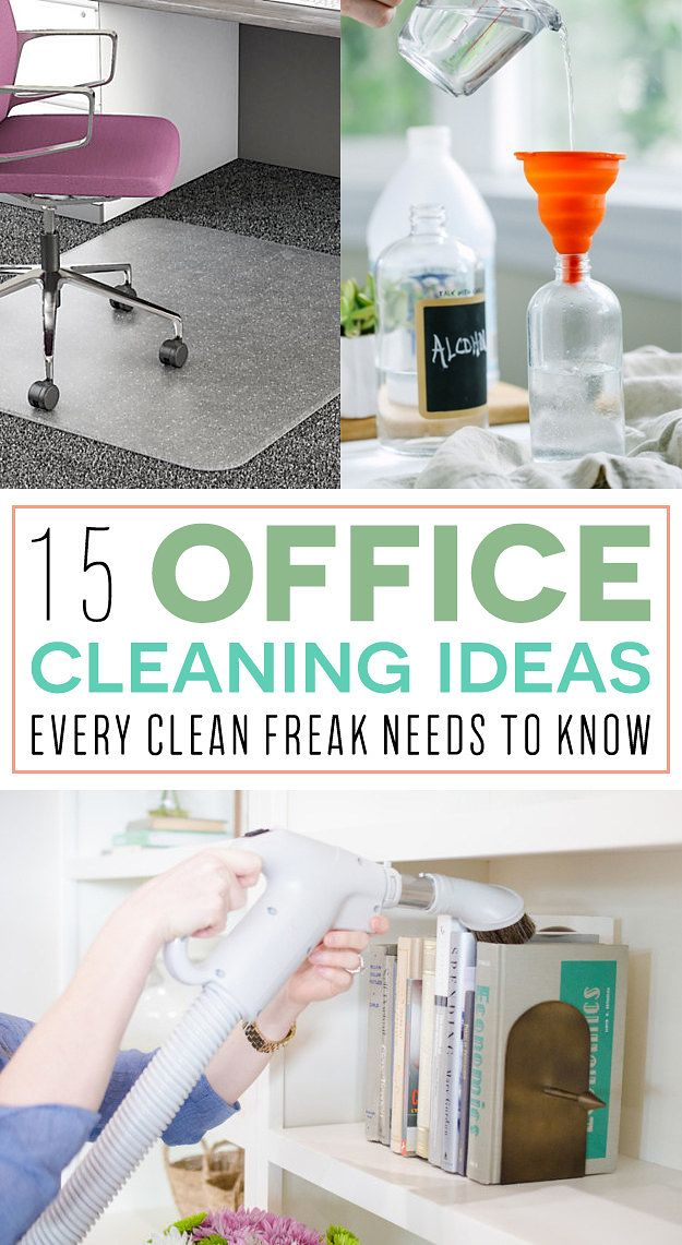 15 Office Cleaning Ideas Every Clean Freak Needs To Know