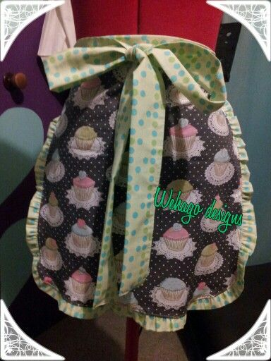 Lovely cup cake apron
