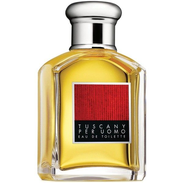 Aramis Tuscany Per Uomo Eau de Toilette Spray, 3.4 oz. ($67) ❤ liked on Polyvore featuring men's fashion, men's grooming, men's fragrance, no color and aramis