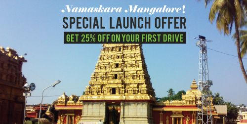 Zoomcar launches in Mangalore - Zooming to the best locations near you just became easier now!