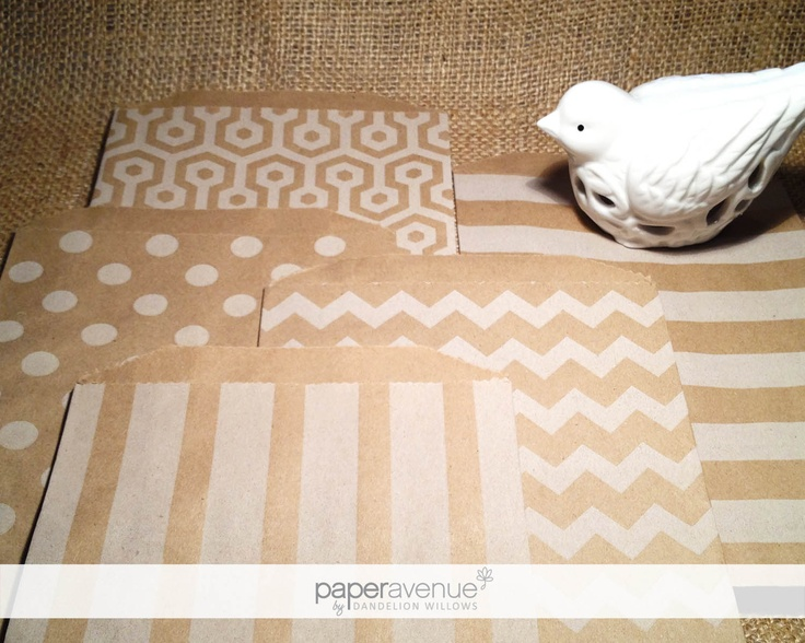 Paper Avenue by Dandelion Willows | Kraft Bags