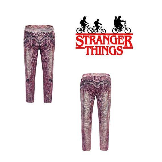 STRANGER THINGS DEMOGORGON Leggings Pants – Stranger Things Demogorgon Costume Outfit – Stranger Things Party Cosplay Pants