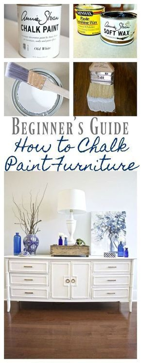 How to Chalk Paint Furniture – Our Best Tips  – Diy Furniture