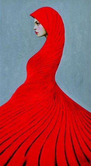 Taras Loboda: Love his portraits, he lives in Prague.