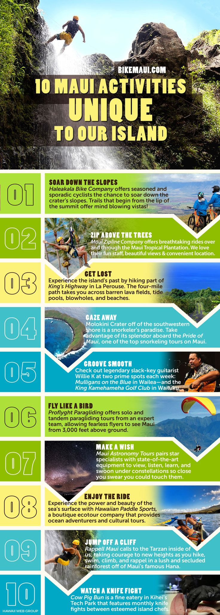 10 Unique Activities in Maui, Hawaii