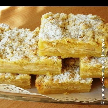 Apfelrahmkuchen vom Blech