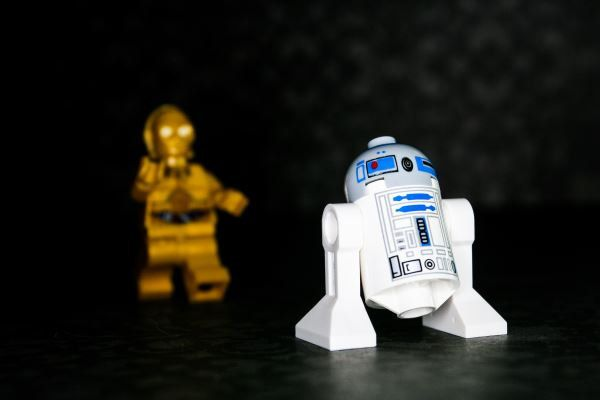 R2D2 Come Back... - R2D2 & C3PO - Photograph - Various Sizes by BACLORI on Etsy
