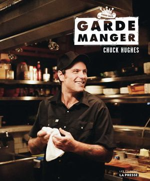 Chuck Hughes, owner of Garde-Manger,   my all time favorite restaurant. Totally crushing on him and love his show!