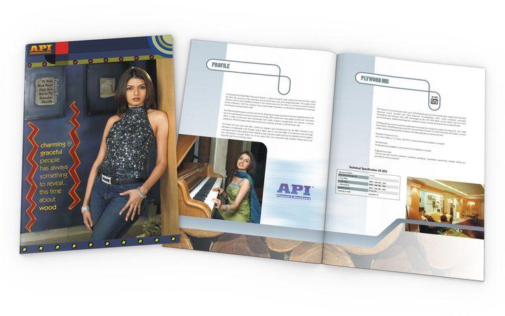 Brochure Design for API (ALAKNANDA PLYWOOD INDUSTRIES)
