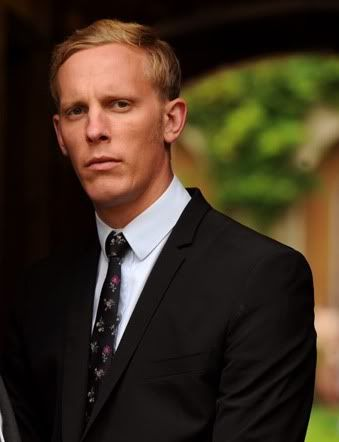 "Gratuitous cheekbones and brooding day..... Laurence Fox as Sargent Hathaway in ""Inspector Lewis"""