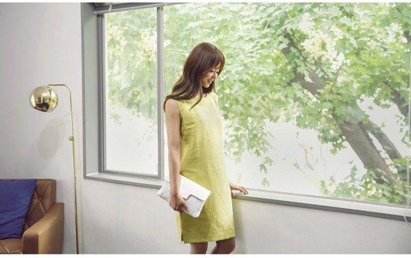 ワンピース 無地 きれいめ (通勤 オフィス OL) 30代 40代 50代 :OD-DRG310:レディース 婦人服の ENVYLOOK - 通販 - Yahoo!ショッピング