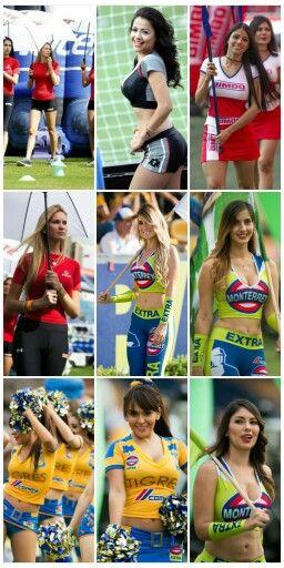 Edecanes Del Fútbol Mexicano