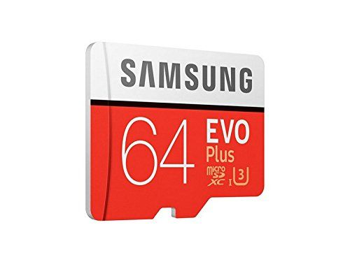 Samsung EVO Plus Grade 3 Class 10 64GB MicroSDXC 100 MB/S Memory Card with SD Adapter (MB-MC64GA/IN) | Electronics Accessories Memory Cards Micro SD | Best news and deals!