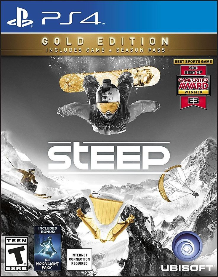 #Steep #Gold #Edition #Sony #PlayStation 4 #PS4 #2016 #Snow #Winter #BrandNew #Sealed