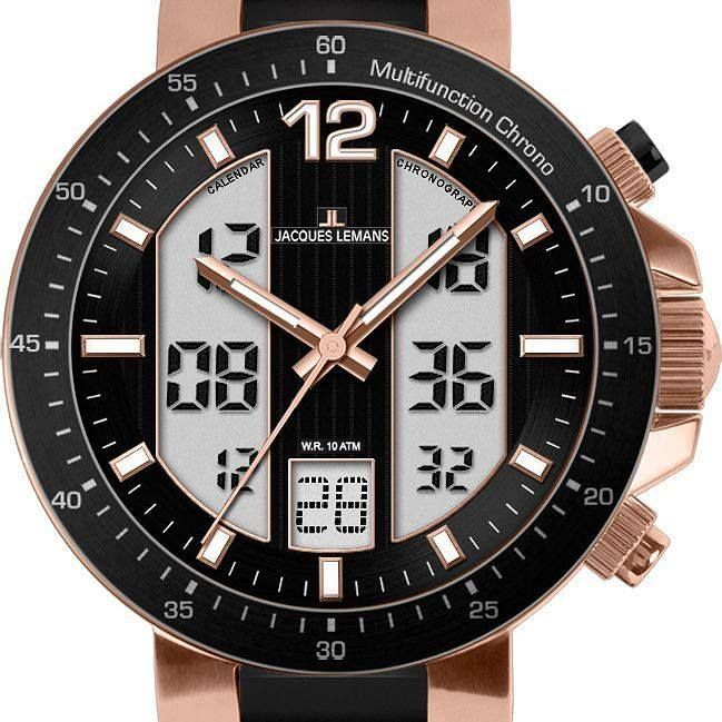 Discover a variety of men's and womens digital watches at Our Watch Is Hot. Watches for sports everyday active use or luxury smartwatches. JACQUES LEMANS MILANO BLACK DIAL ANALOG-DIGITAL MEN'S WATCH http://ift.tt/2g138Ib