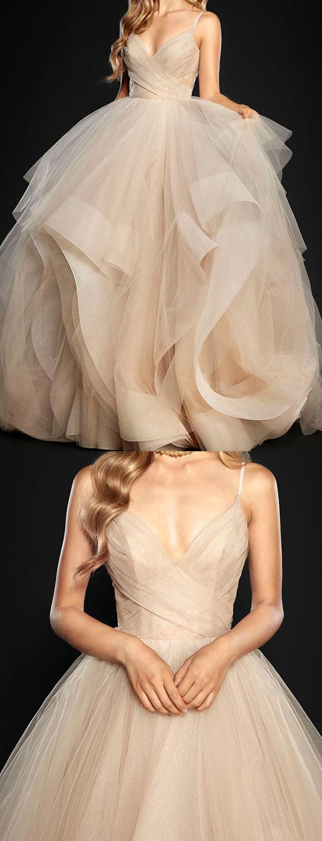 My favorite color for wedding dresses