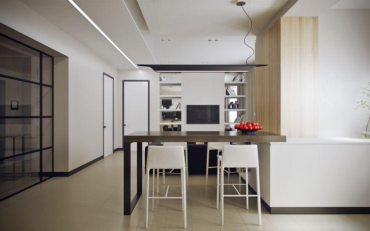 Гостиная студия в небольшой квартире - Галерея 3ddd.ru