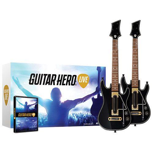 Guitar Hero Live Guitar Bundle (Wii U) - 2 Pack