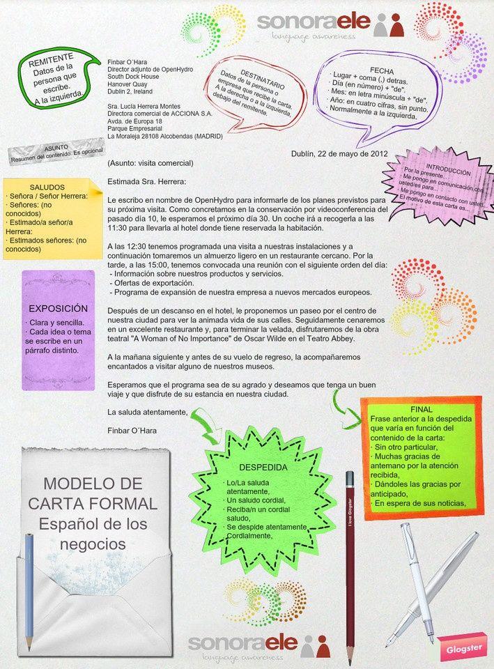 Die 11 Besten Ideen Zu Escribir Una Carta Auf Pinterest Spanisch