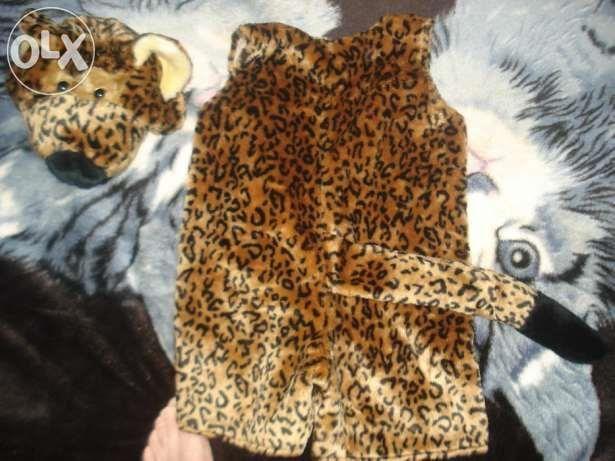 Костюм гепарда для ребенка