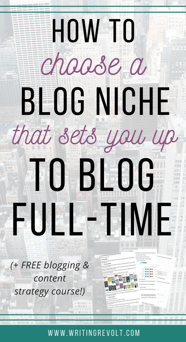 Wondering how to pick a blog niche? Follow the tips in this post, and you'll take the first step in turning your blog into a full-time income by choosing the right topic to write about! | blogging tips | entrepreneur tips | writing tips | how to choose a blog topic | what to write about on your blog |