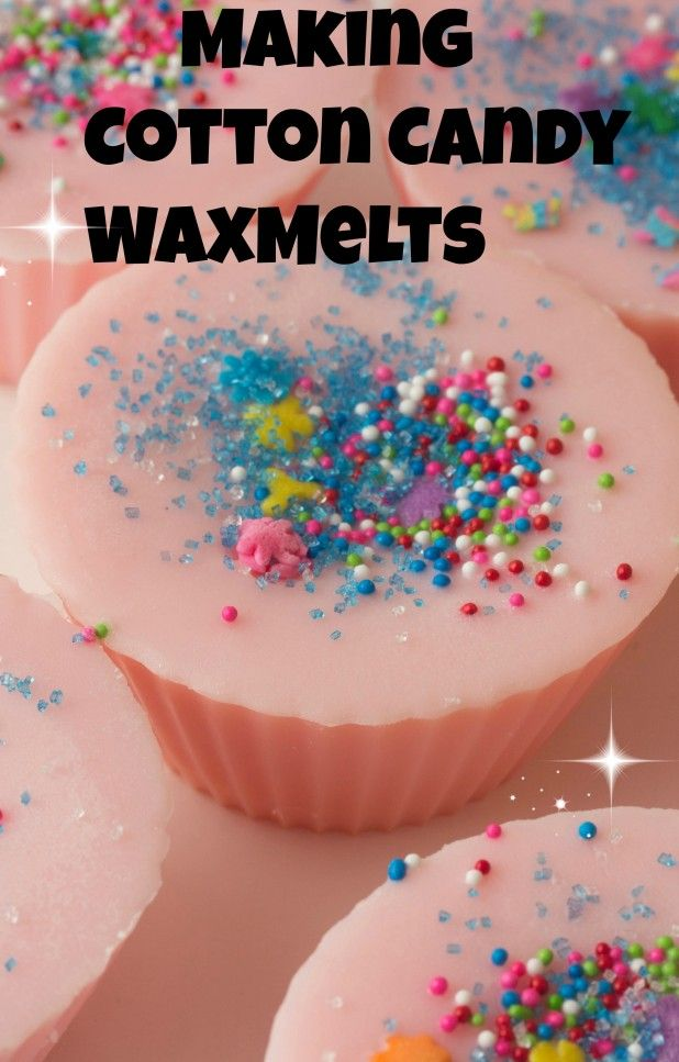 Today were making cotton candy wax treats and a few tips on making cupcake bath bombs.