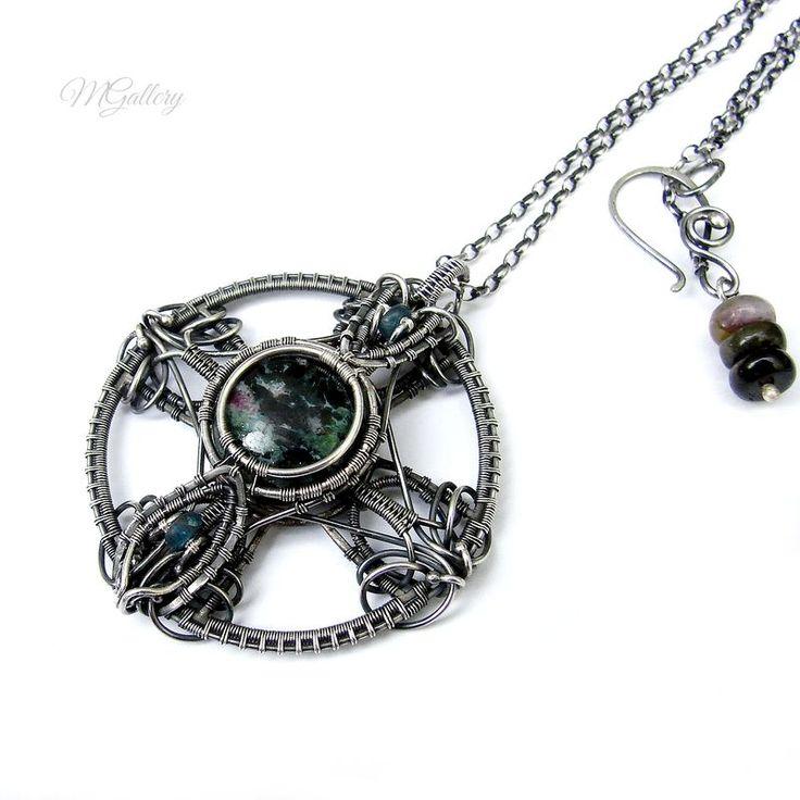 41 best Iza Malczyk Jewelry images on Pinterest | Wire jewelry, Wire ...