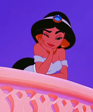 Jasmine: my favorite Disney princess and spirit animal. Yes. An animated woman is my spirit animal.