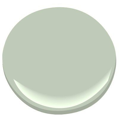 Benjamin Moore Prescott Green. Another relaxing one that is easy to use.