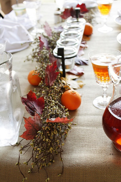 flickr: my whimsy: Autumn Fall Thanksgiving, Thanksgiving Ideas, Home Tablesettings, Thanksgiving Decor, Fall Thanksgiving Tablescape, Table Centerpiece, Tablescapes Centerpieces, Thanksgiving Tablescapes, Autumn Tablescape