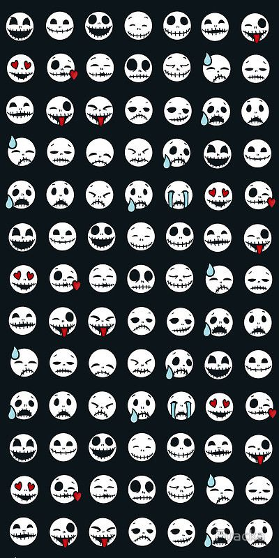 Jack Skellington smiley's! :D *-------* <3
