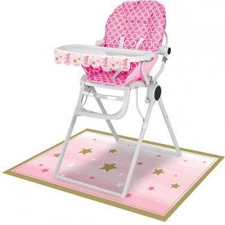 Little Star Pink High Chair Decoration Kits (Each)