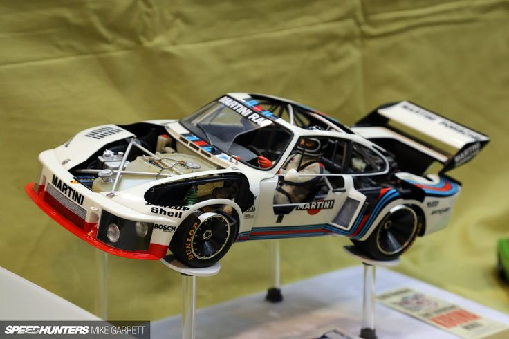 This 1:12 scale Tamiya Porsche 935 Turbo had insane detail, and even featured cut-away body panels to fully expose the amazing craftsmanship inside.