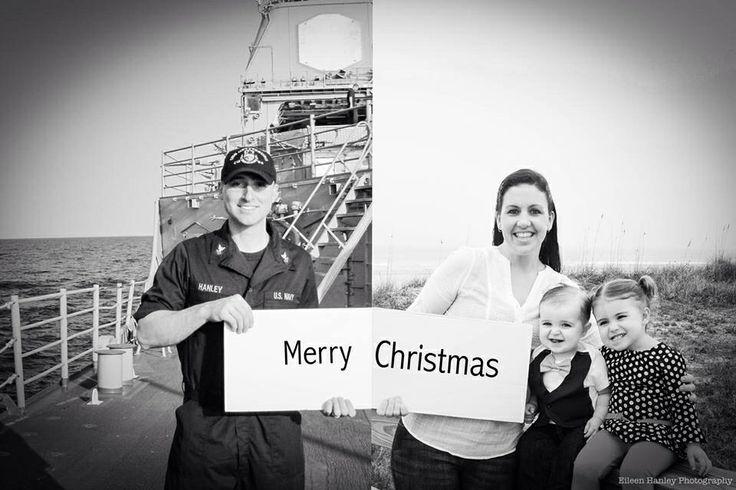 Deployment Christmas Card Idea @eileenhanleyphotography