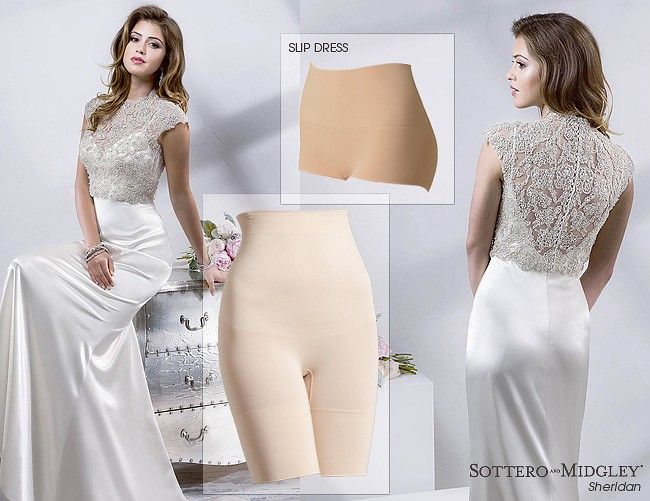 what kind of underwear should i wear when trying on wedding dresses