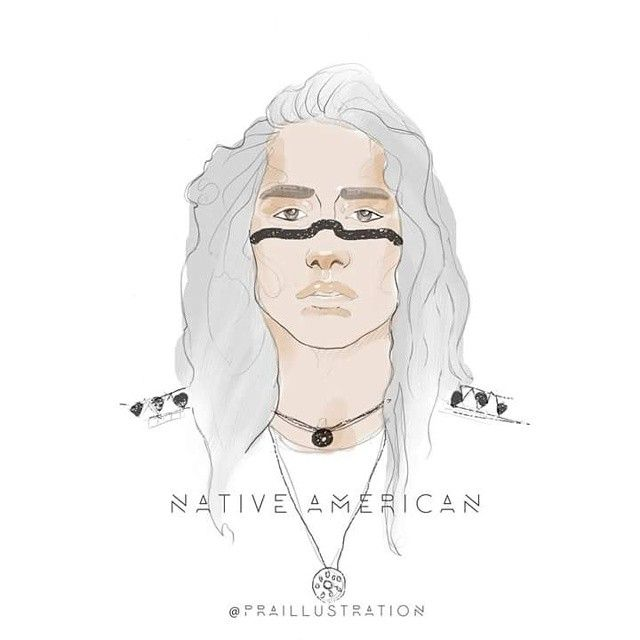 Fashion Illustration  NATIVE AMERICAN ILLUSTRATION finished, so what can you say about this illustration? Happy to receive feedback, #nativeamerican #model #malemodel #male #menswear #fashion #fashioncity #liverpool #fashionillustration #art #artist #fashionillustrator. #followme #follow #praillustration