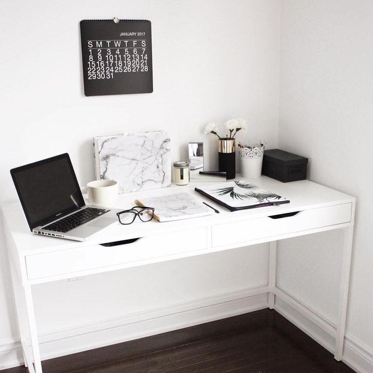 Die besten 25+ Ikea alex schreibtisch Ideen auf Pinterest - schreibtisch im schlafzimmer