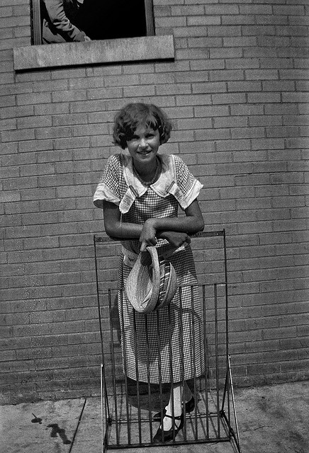 Unidentified young woman, Dayton, Tennessee, July 1925. by Smithsonian Institution, via Flickr