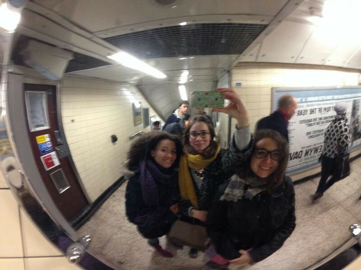 Underground, selfie ;)