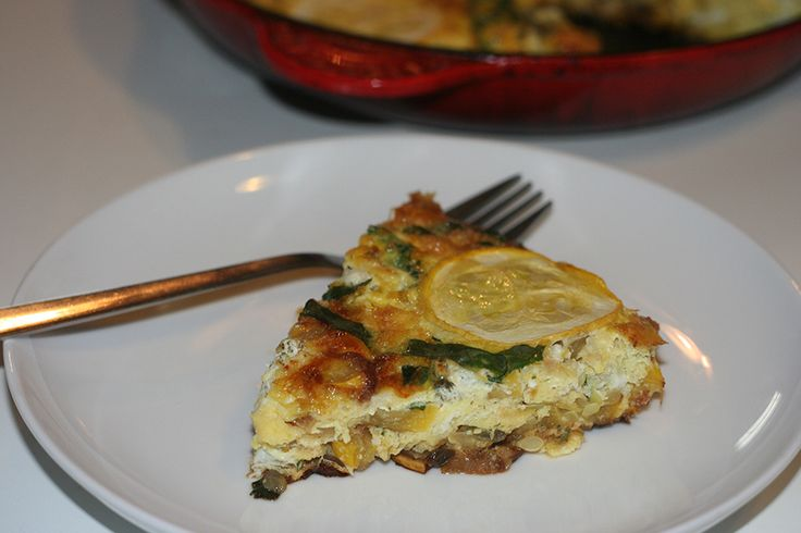 summer-squash-frittata | breakfast | Pinterest