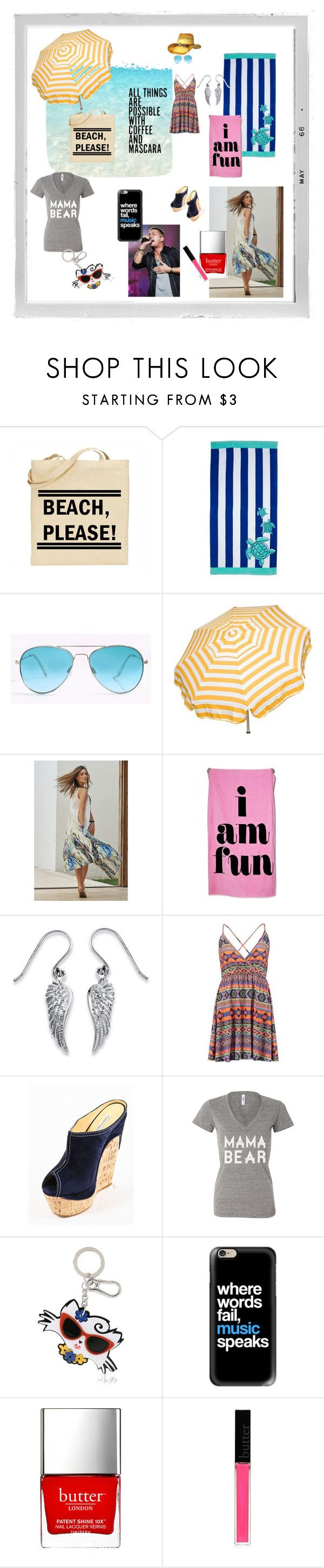 """Me"" by desperer ❤ liked on Polyvore featuring Polaroid, Parasol, Swim by Anthropologie, band.do, Palm Beach Jewelry, Gianmarco Lorenzi, Karl Lagerfeld, Casetify, Butter London and allaboutme"