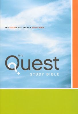 Daily Favor Blog Book of the Week: NIV Quest Study Bible: The Question and Answer Bible Hardcover by Zondervan Youth Version also available http://favored1-dailyfavor.blogspot.com/2017/03/security-takes-holiday-part-1.html