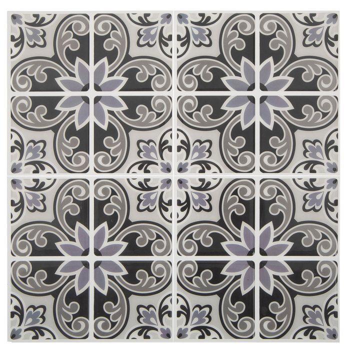 Gray Medallion Tile Adhesive Wall Art Hobby Lobby 1732916 Adhesive Wall Art Adhesive Tiles Self Adhesive Wall Tiles