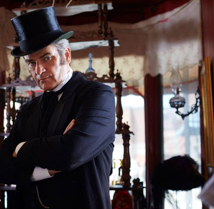 """Terrence Meyers aka Peter Keleghan in """"Murdoch Mysteries.""""  In a previous incarnation, Keleghan was the highly deranged """"Ranger Gord"""" on the """"Red Green Show."""""""