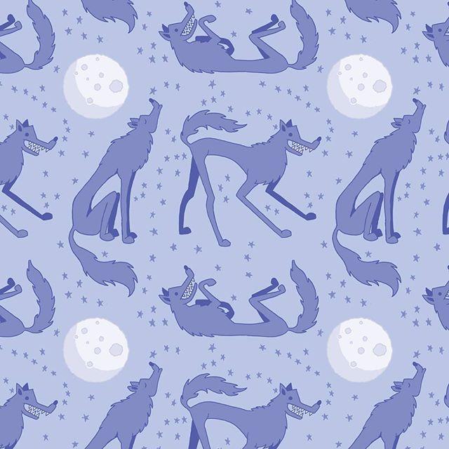 Wolf Pattern by Lisa McHugo